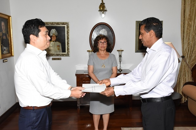 South Korea envoy to Seychelles sees police work, blue economy as joint issues