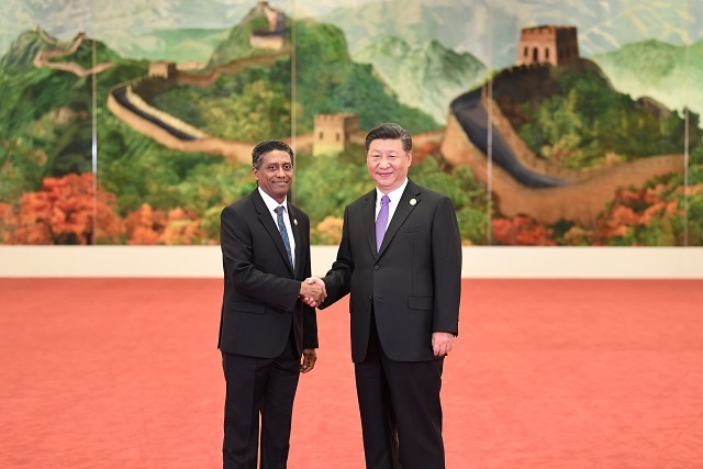 President of Seychelles says China showing strong commitment to challenges in Africa