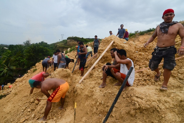Six killed, dozens missing in new Philippine landslide