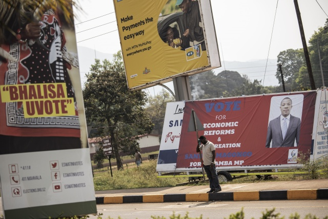 King's absolute rule towers over eSwatini election