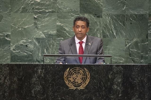 Le président des Seychelles rappelle à l'Assemblée générale des Nations Unies les besoins des petits États insulaires