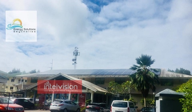 Seychelles' Intelvision goes solar, set to be amongst local companies with largest PV system
