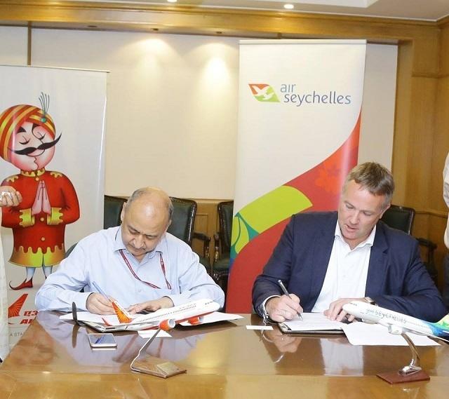 L'accord entre Air Seychelles et Air India permet aux voyageurs d'accroître leurs connectivités
