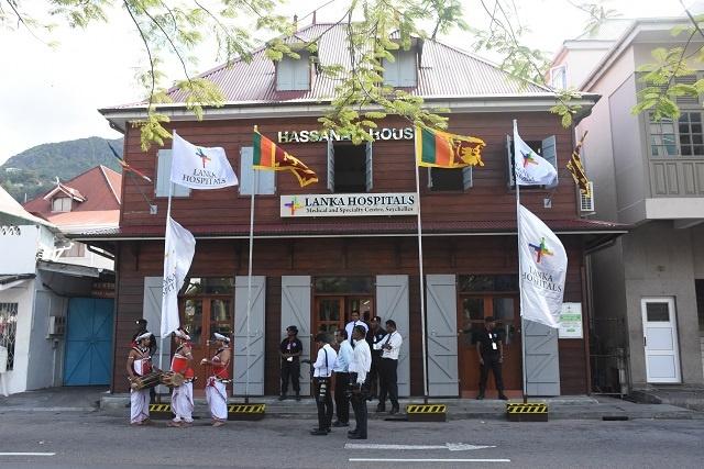 Highlighting medical links, Sri Lankan President visits Lanka Hospital branch in Seychelles
