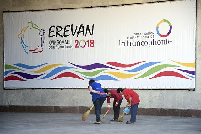 En sommet à Erevan, la Francophonie s'apprête à introniser une Africaine