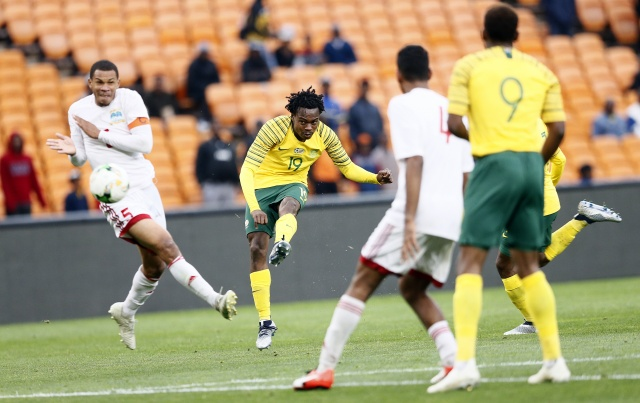 Record six-goal triumph for South Africa