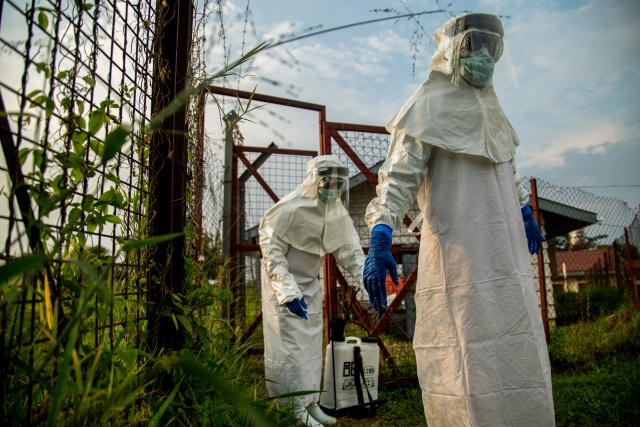 DRC Ebola outbreak not global emergency 'at this time': WHO