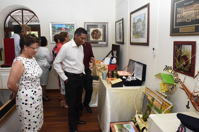A look at 6 gifts given to President Faure of Seychelles