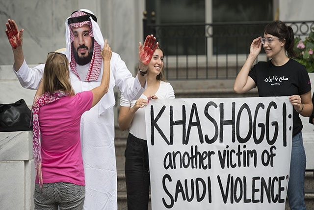 Khashoggi: Trump nie couvrir les alliés saoudiens de Washington