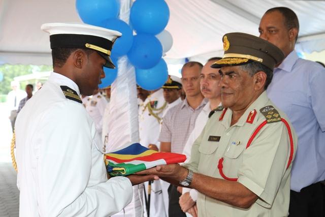 Le plus haut gradé de l'armée des Seychelles va prendre sa retraite.