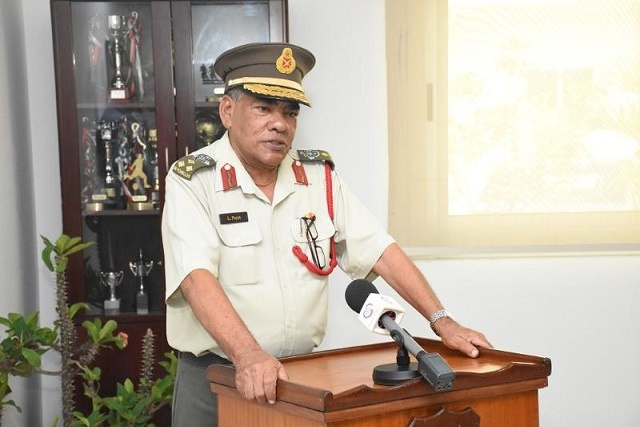 Chief of Seychelles Defence Forces retirement announced after 41 years of service