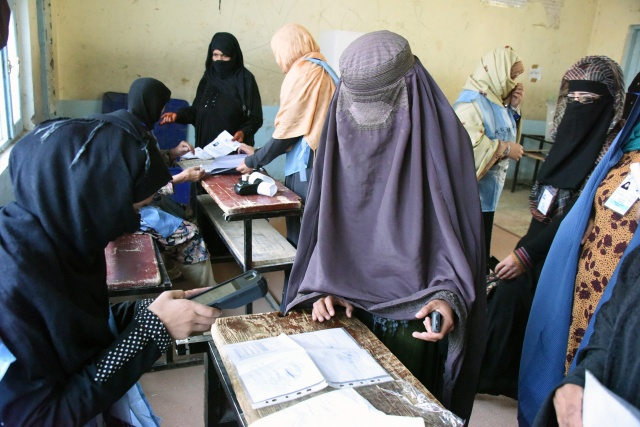Kandahar goes to the polls in Afghan parliamentary vote delayed by violence
