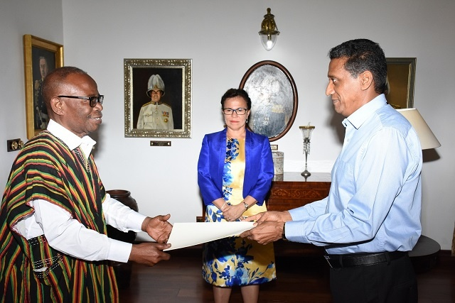 Education, tourism, fisheries are areas of cooperation for Seychelles and Ghana, new high commissioner says