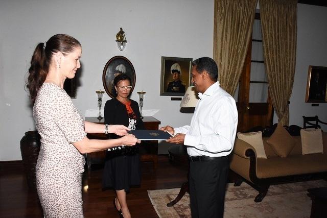 Le développement socio-économique et le changement climatique sont des domaines prioritaires pour les Seychelles et l'Allemagne, a déclaré l'ambassadeur