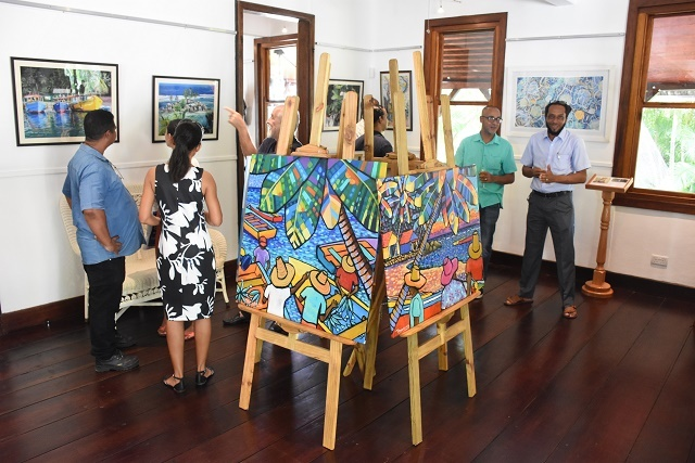 Setting the (art) scene in Seychelles: Gallery opens in national monument building from 1855