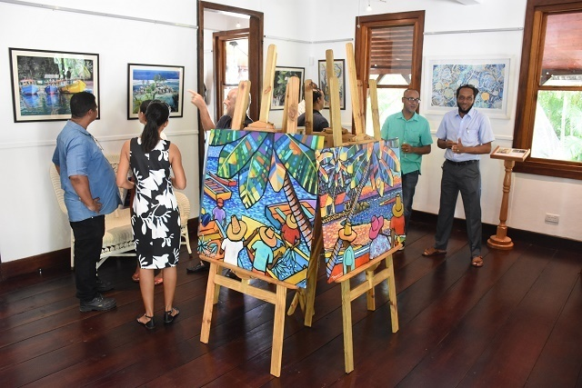 Une galerie ouvre dans un monument national datant de 1855 aux Seychelles