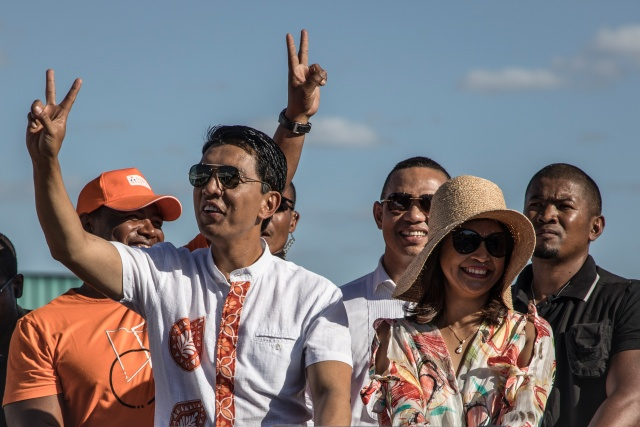 Madagascar ex-president Rajoelina leads in vote count: first results