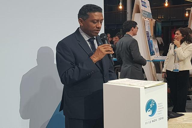 Le président Faure met en avant la stabilité des Seychelles à travers l'économie bleue lors du Forum de Paris sur la Paix