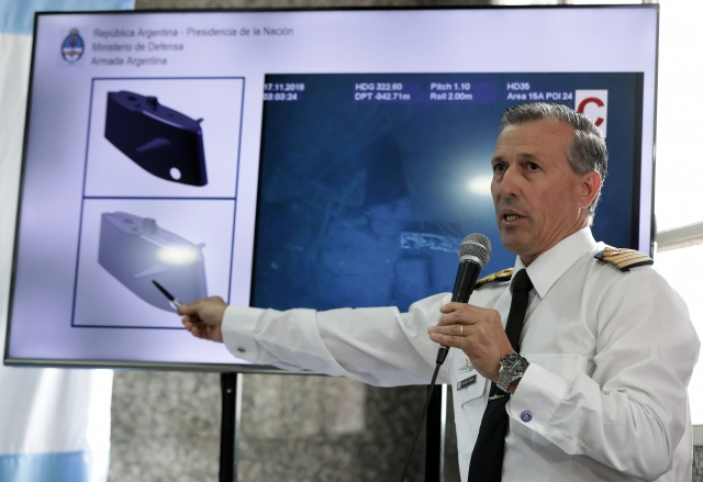 Argentine submarine wreck found one year after disappearance