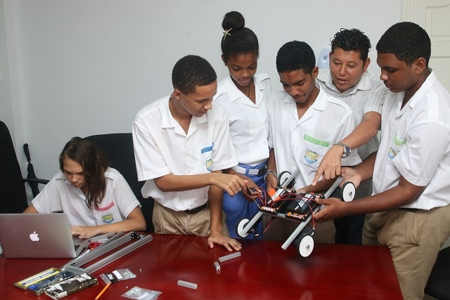 Project in Seychelles hopes to inspire careers in science, technology, engineering