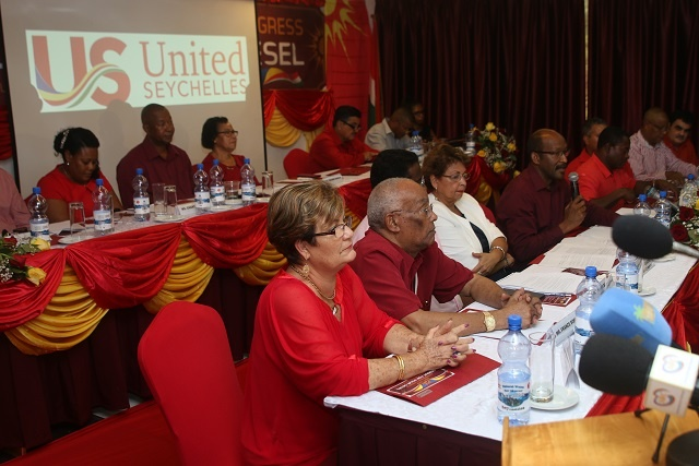 Parti Lepep, seeking platform of unity, changes name to United Seychelles
