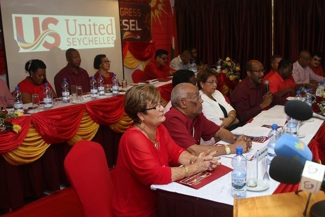 Parti Lepep, à la recherche d'une plate-forme d'unité, change de nom et devient United Seychelles