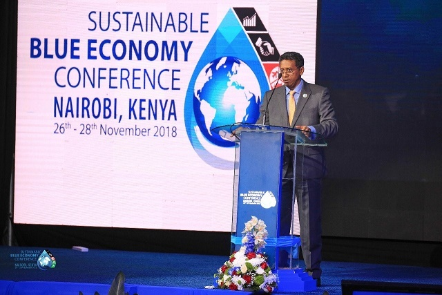 President of Seychelles pledges deeper investment in Blue Economy at Kenyan conference