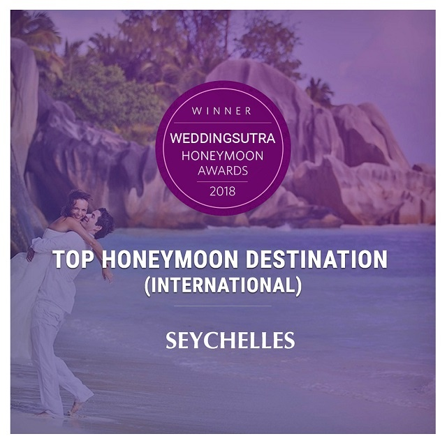 Seychelles named a Top 5 wedding destination by India's top bridal brand