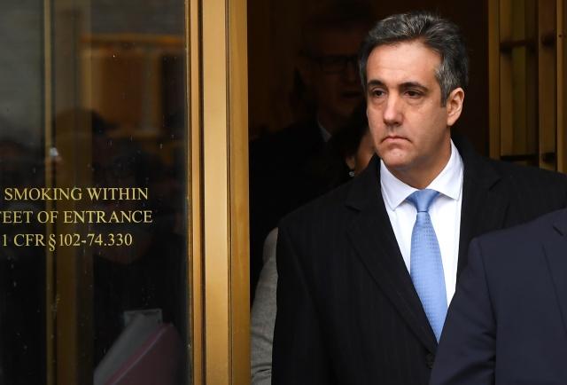 Ex-lawyer blames Trump 'dirty deeds' as he gets 3 years