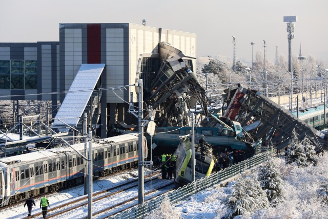 Ankara train crash leaves nine dead, 86 injured
