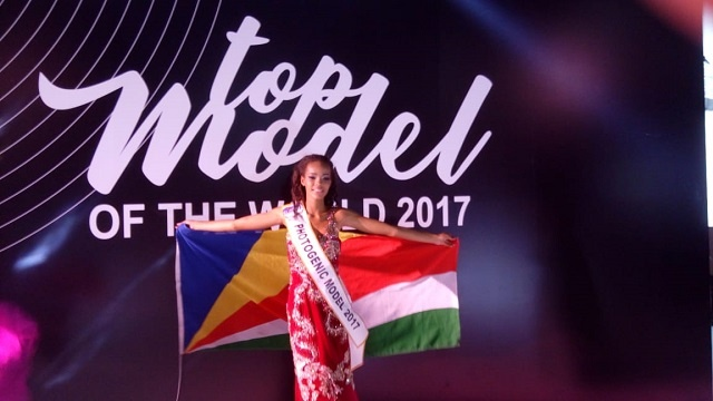 A beauty from Seychelles will compete for Miss Intercontinental next month in Philippines