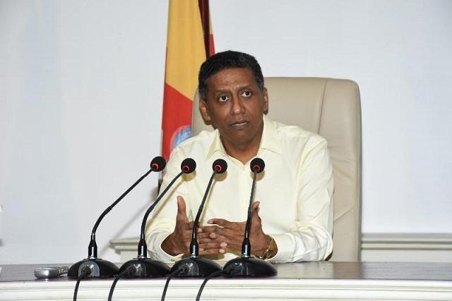 Seychelles' president: Coast Guard base on Assumption, more effort needed in drug fight