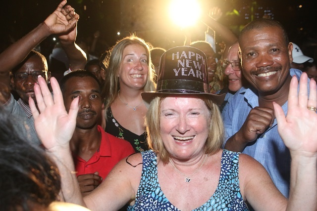 Seychelles welcomes 2019 with street party in capital city