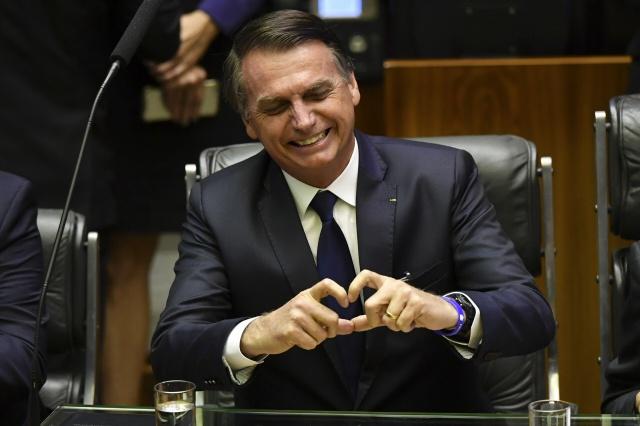 Brazil stocks hit record as Bolsonaro takes charge