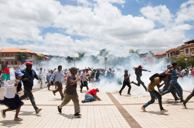 Simmering anger sparks days of protest after Madagascar vote
