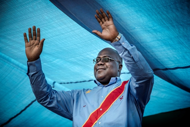 Opposition's Tshisekedi declared winner of DRC presidential poll