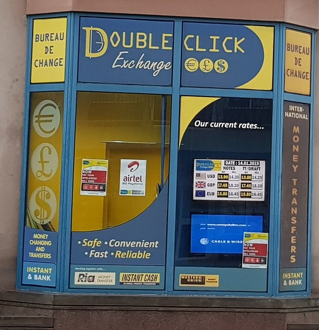 Central Bank of Seychelles suspends money transfer services of Doubleclick Exchange