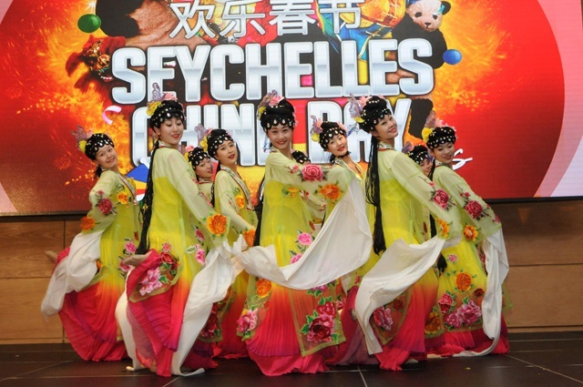 Brocade fashion show a highlight of this year's Seychelles-China day