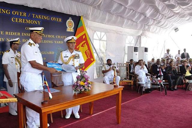 Le Sri Lanka fait don de deux patrouilleurs aux Seychelles pour la surveillance maritime
