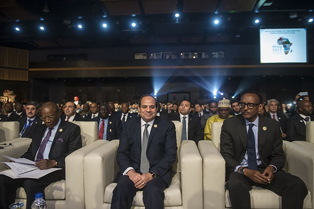 L'UA réunie en sommet tourne la page Kagame et ouvre un chapitre égyptien