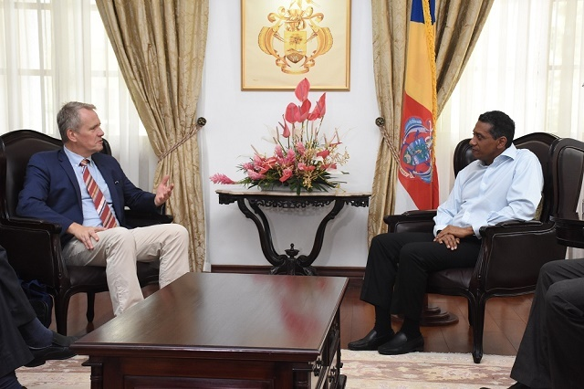 Seychelles and Norway talk about blue economy, climate change and renewable energy
