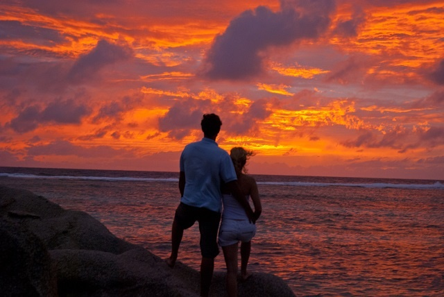 How to say 'I love you' the silent way in Seychelles