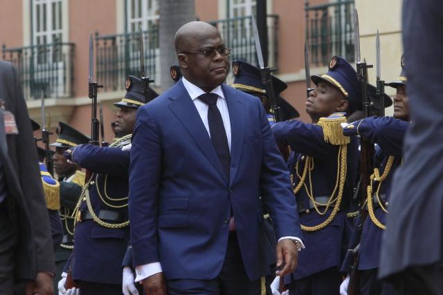 DR Congo's Tshisekedi holds coalition talks with Kabila