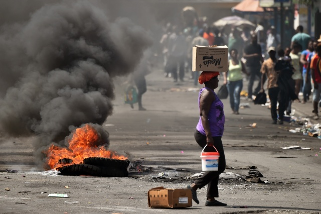 Haiti officials to lose perks in PM's response to violent unrest