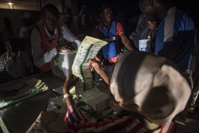 Nigerians wait for election results as polls close