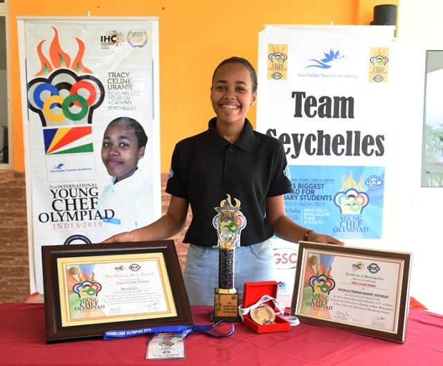 Seychellois clinches Rising Star Young Chef award at international competition