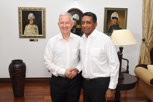 Ireland seeks Seychelles' support for seat on UN Security Council