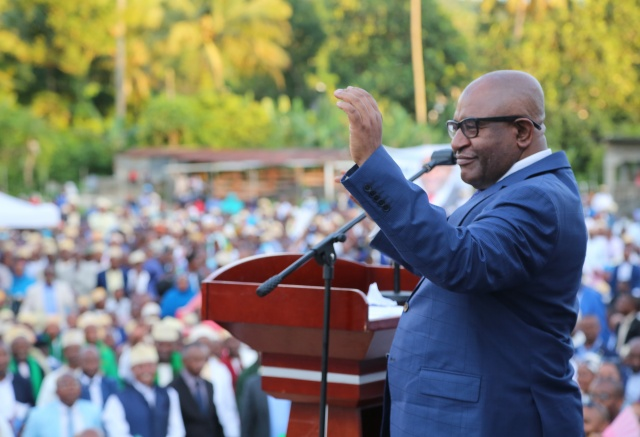 Comoros president survives assassination attempt: campaign chief