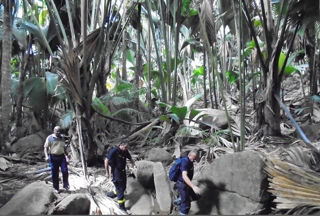 Des efforts en cours pour un plan d'urgence en cas d'incendie pour l'île de Praslin aux Seychelles