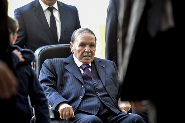 Algeria's Bouteflika drops bid for fifth term after protests
